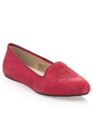 Ugg ladies' Smoking slippers in sangria @Beyond the Rack