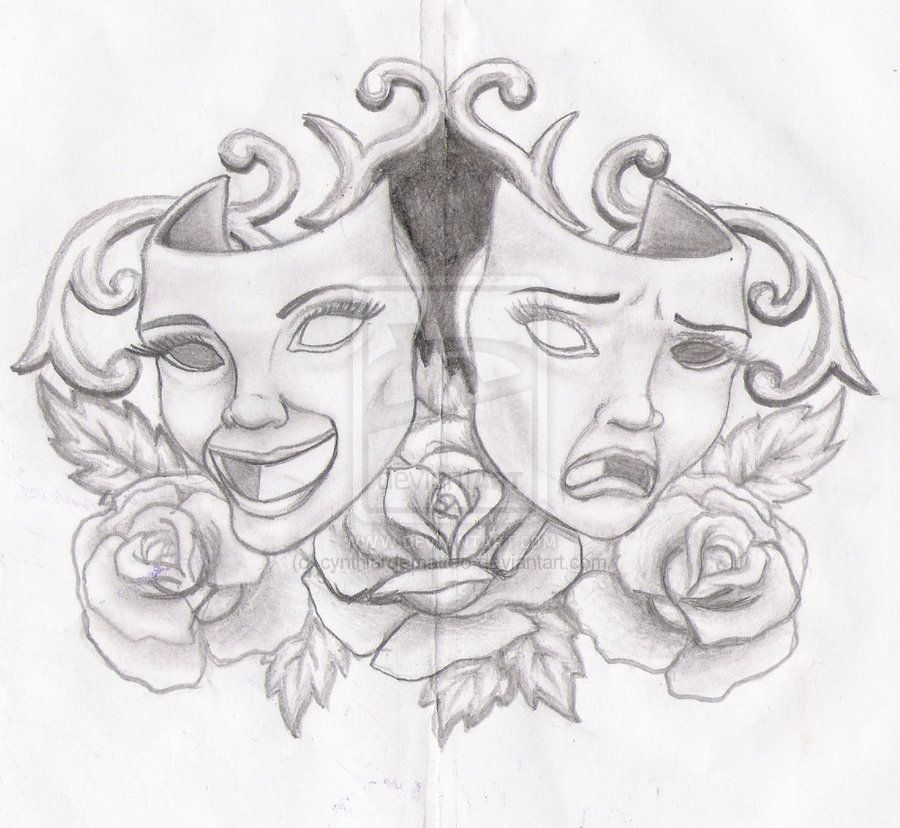 Masks And Roses By Cynthiardematteo.deviantart.com On