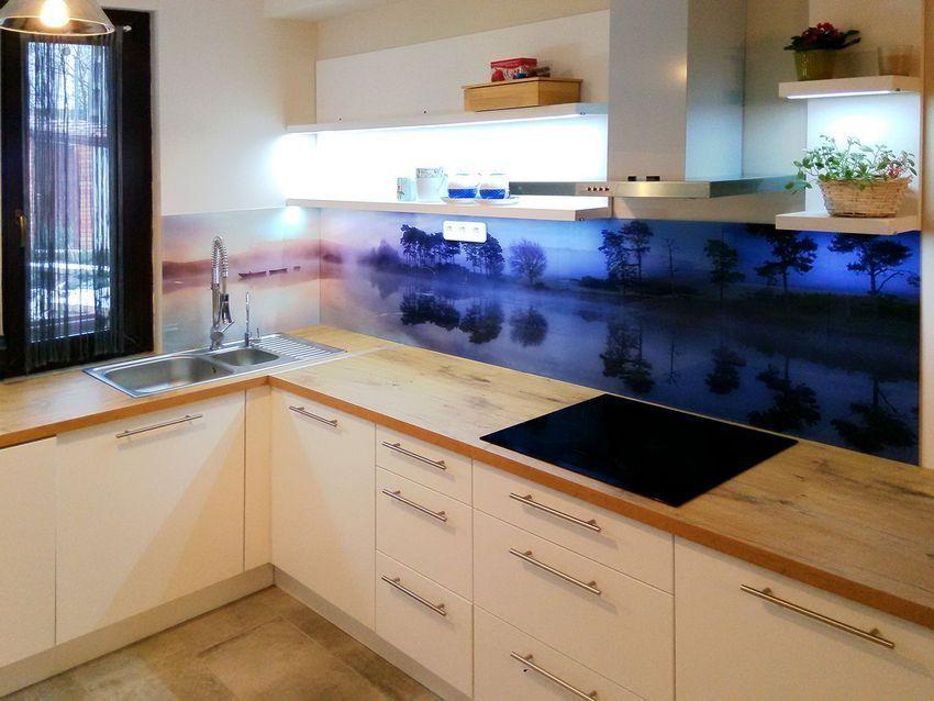 Nyomtatással dekorált üveg konyha hátfal ötletek - videó ...