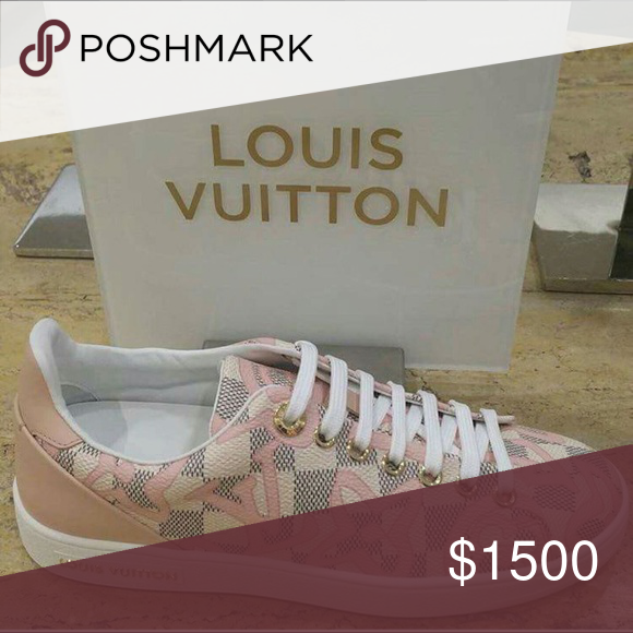 NFS Sharing Louis Vuitton Tahaitian Sneakers. Limited edition Louis Vuitton Shoes Sneakers
