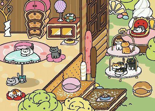 Pleasant Sugar Sugar Neko Atsume Android Pinterest Easy Diy Christmas Decorations Tissureus
