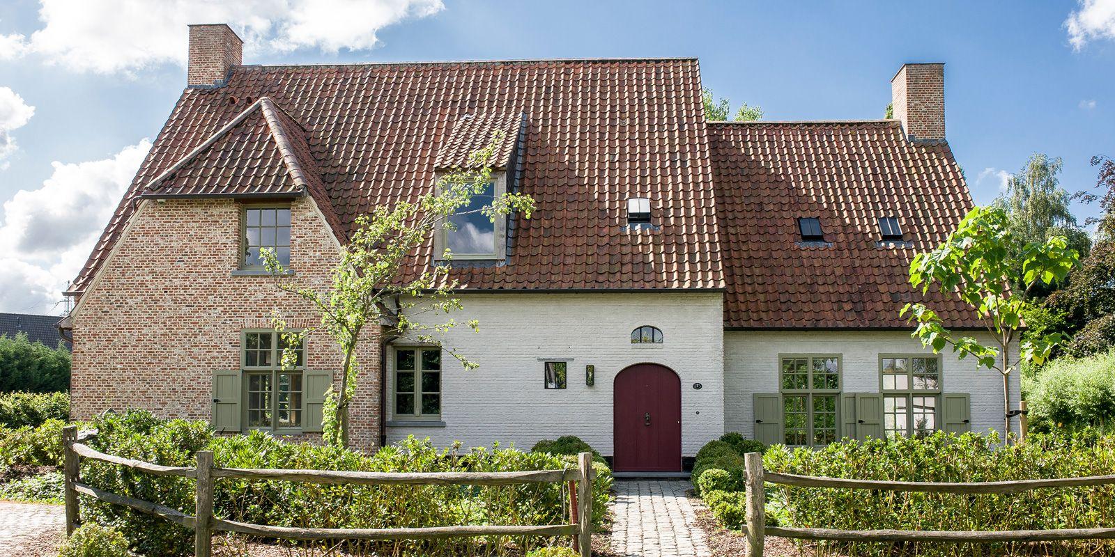 Oase Van Groen Buitenkant Huizen Huis Buitenkant Buitenkant Huis