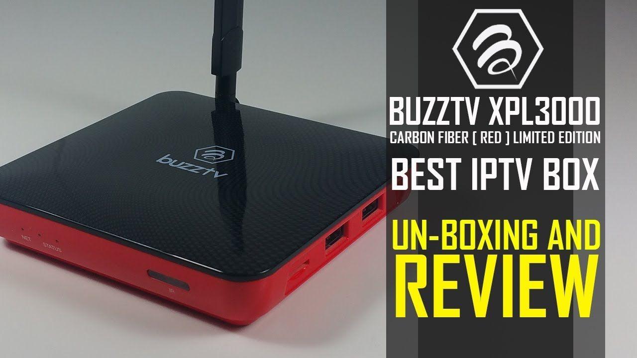 BEST IPTV BOX 2018 - Buzztv XPL3000 - OS 7 1 Nougat - Uboxing And