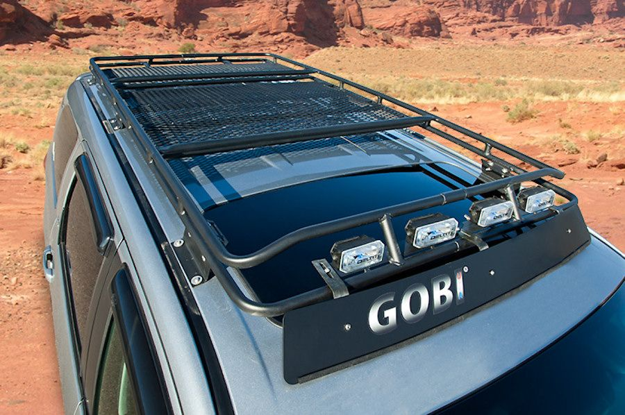 Trail Duty Gobi Toyota Sequoia Stealth Roof Rack Toyota Land Cruiser 100 Land Cruiser Toyota Land Cruiser