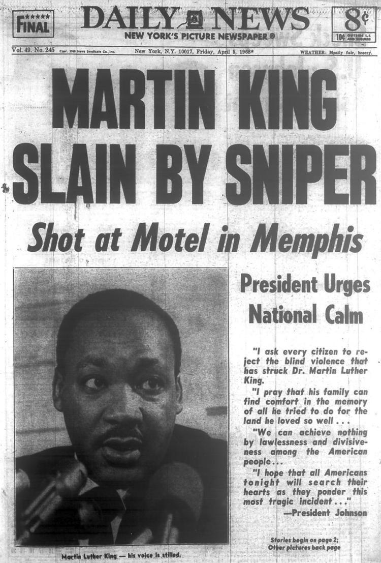 En kvart ver: Martin Luther King - en militant fredsduva