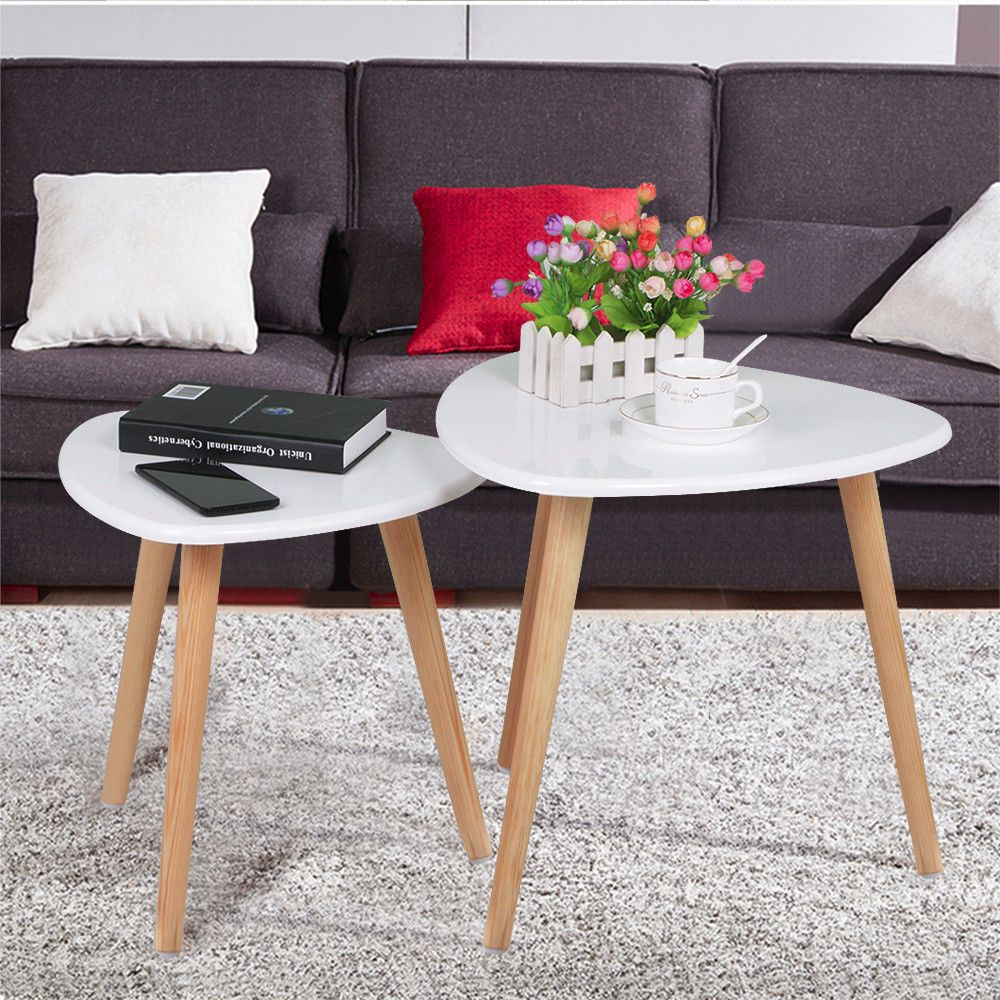 Nesting Table Set Made Of Grade E1 Mdf Seat And Solid Wood Legs Durable And Solid Sold In A Pack Of Nesting Tables Living Room Living Room Table Living Table [ 1000 x 1000 Pixel ]