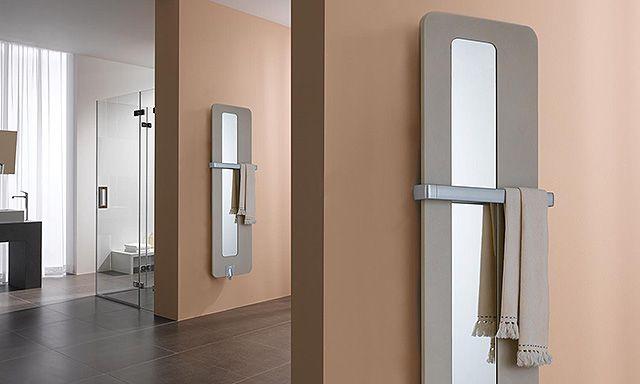 Radiateur Optotherm de kermi avec porte serviette horizontal coloris - porte serviette a poser