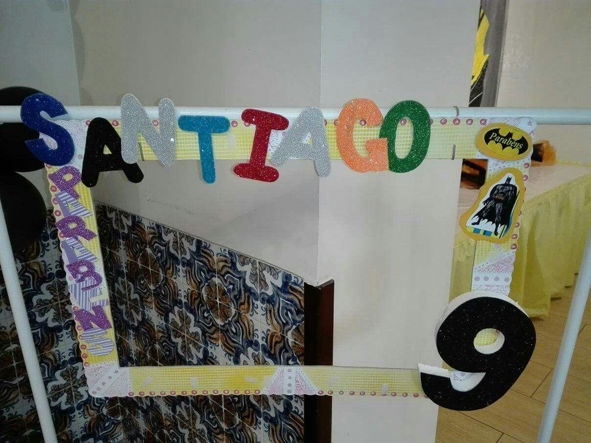 Festa Batman do Santiago que festejou 9 anos. Reserve agora a sua antes que a data não esteja disponível...