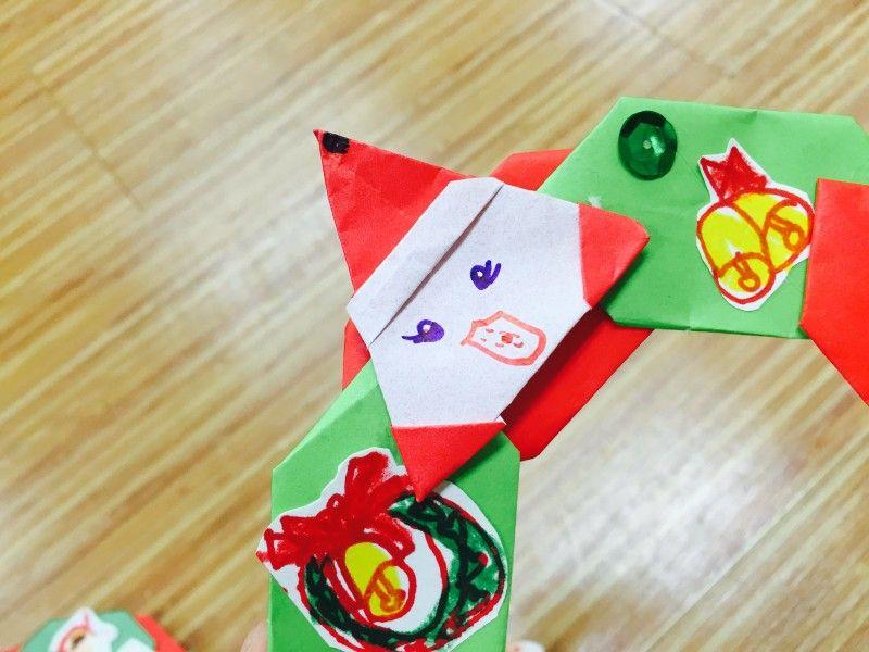 12월 주제 색종이를 이용하여 크리스마스 리스 만들기 네이버 블로그 크리스마스 리스 크리스마스 리스