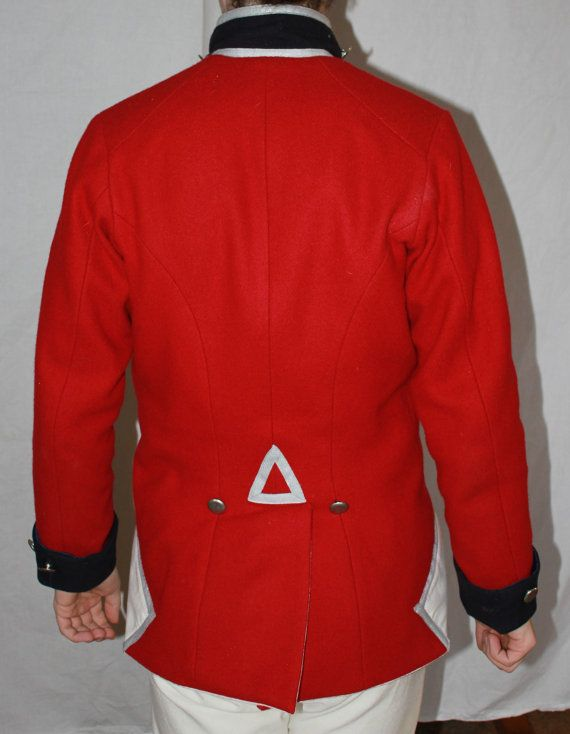 Napoleonic British Officer's Uniform Jacket by ThePeriodTailor ...