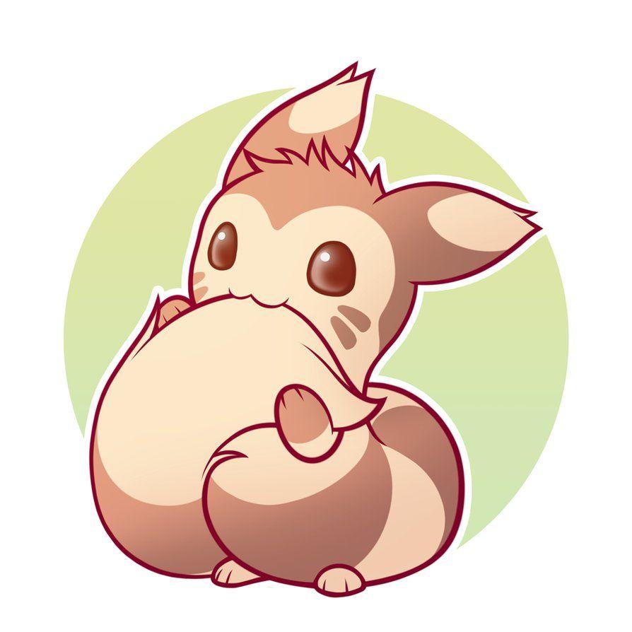 Chibi Furret By Symbianl On Deviantart Cute Pokemon Wallpaper Cute Pokemon Cute Pokemon Pictures