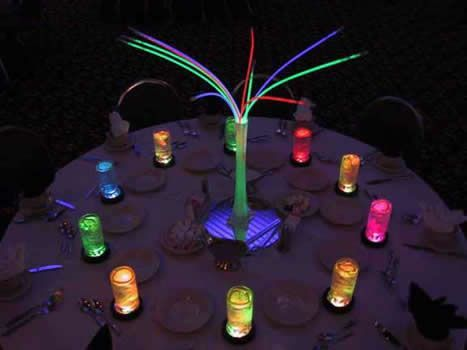 Image Result For Glow In The Dark Table Decorations
