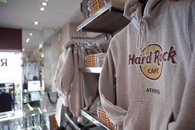 Rock Shop At Hard Rock Cafe Athens Thisishardrock Brand