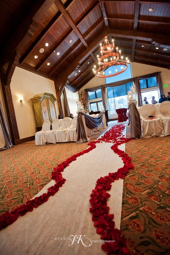 Wedding Ceremony In The Great Room At The Arrabelle Vail
