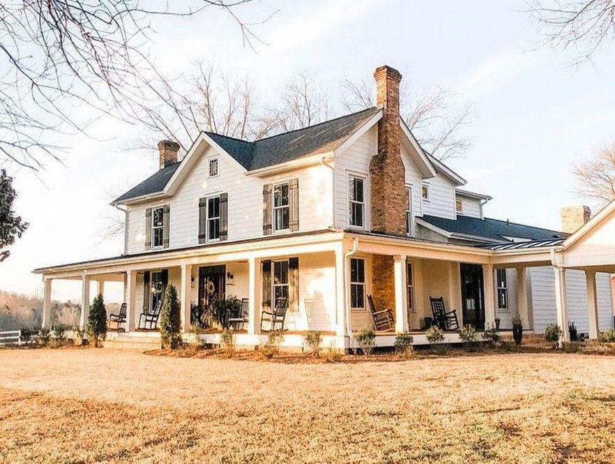 41 Best Farmhouse Design Ideas For 2019 Fieltro Net Farmhouse House Dream House Exterior House Exterior