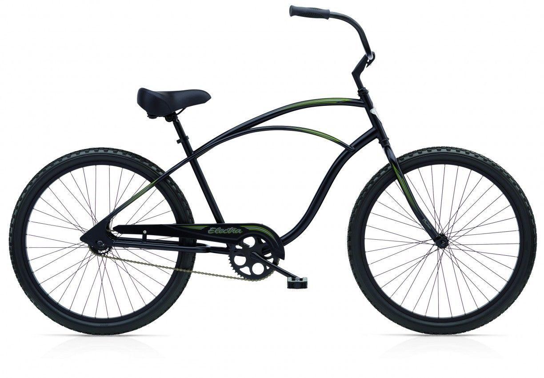 Electra Bike Fahrrad Beach Cruiser Cruiser 1 Schwarz Matt Neu Ebay Electra Fahrrad Cruiser Fahrrad Fahrrad 24 Zoll