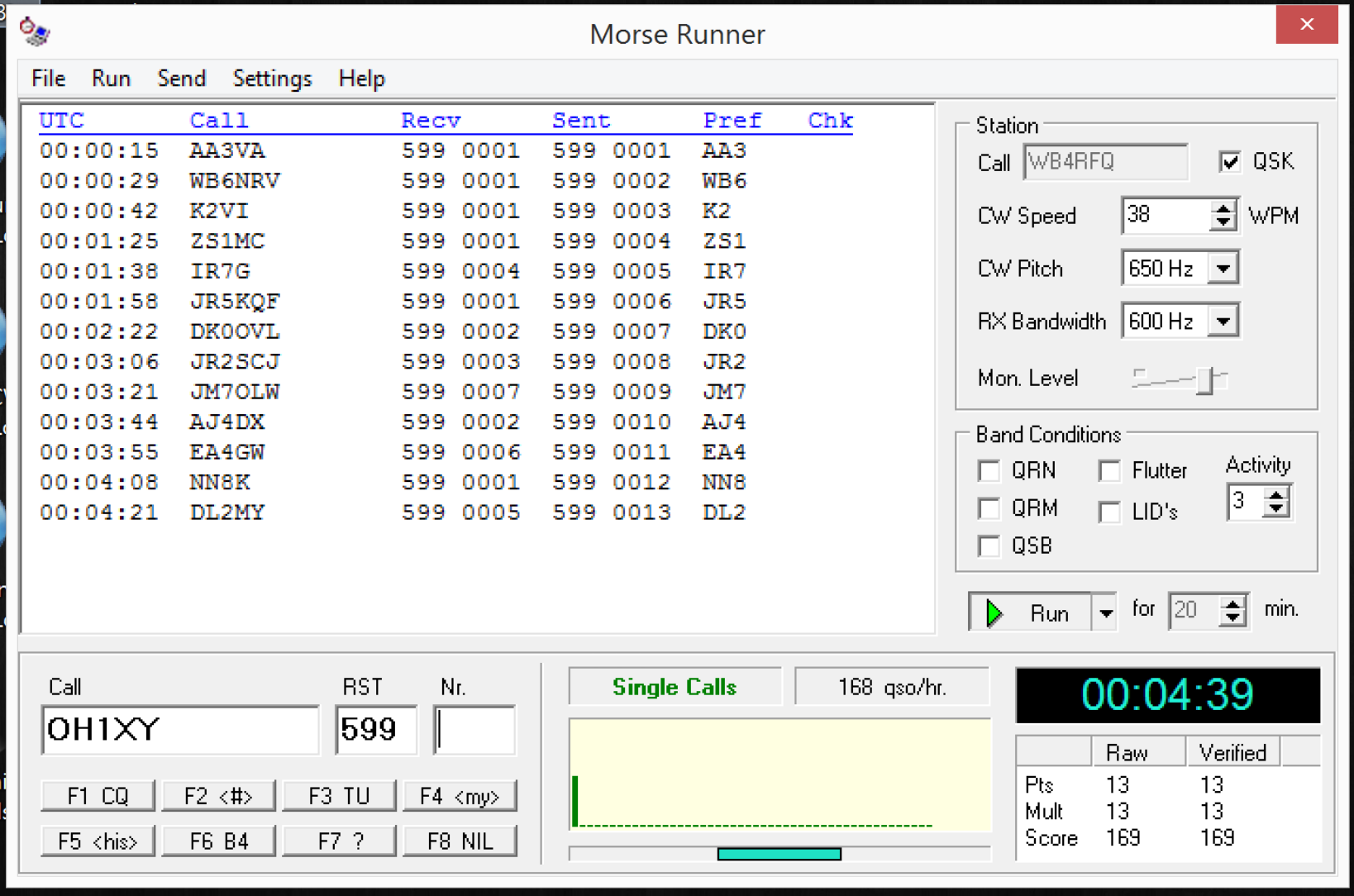 Morse Runner: High Speed CW Practice | Morse Code | Morse