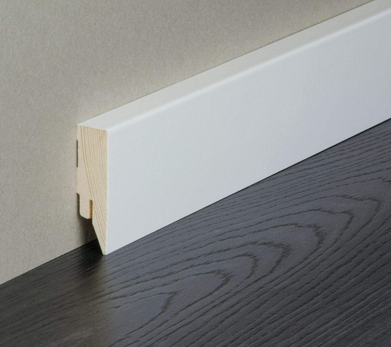 Details zu Sockelleisten weiß Sockelleiste Fußleisten Kabelkanal