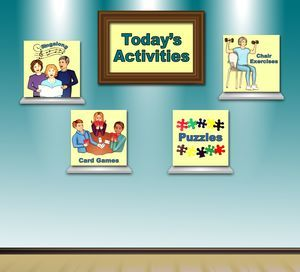 Activity signs