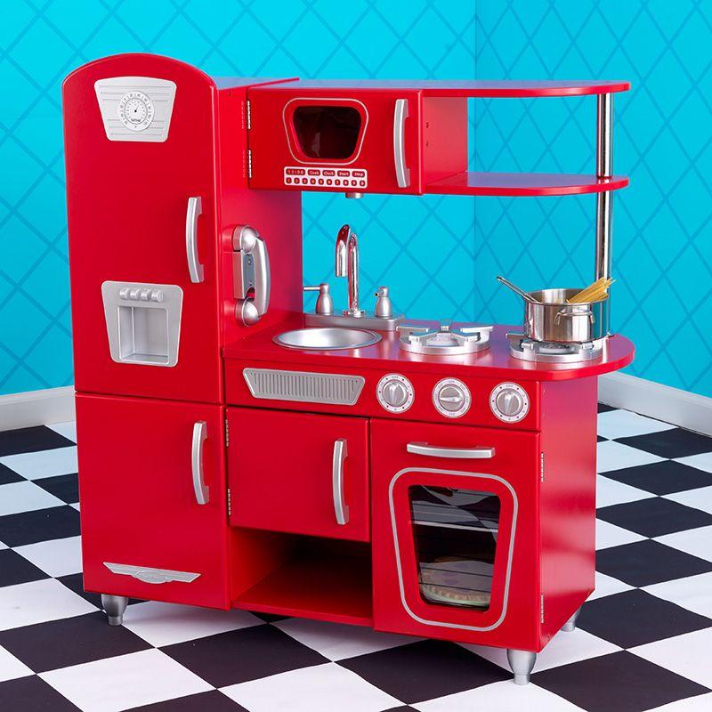 Costco Mexico - KidKraft, cocina estilo retro color rojo | Kids ...