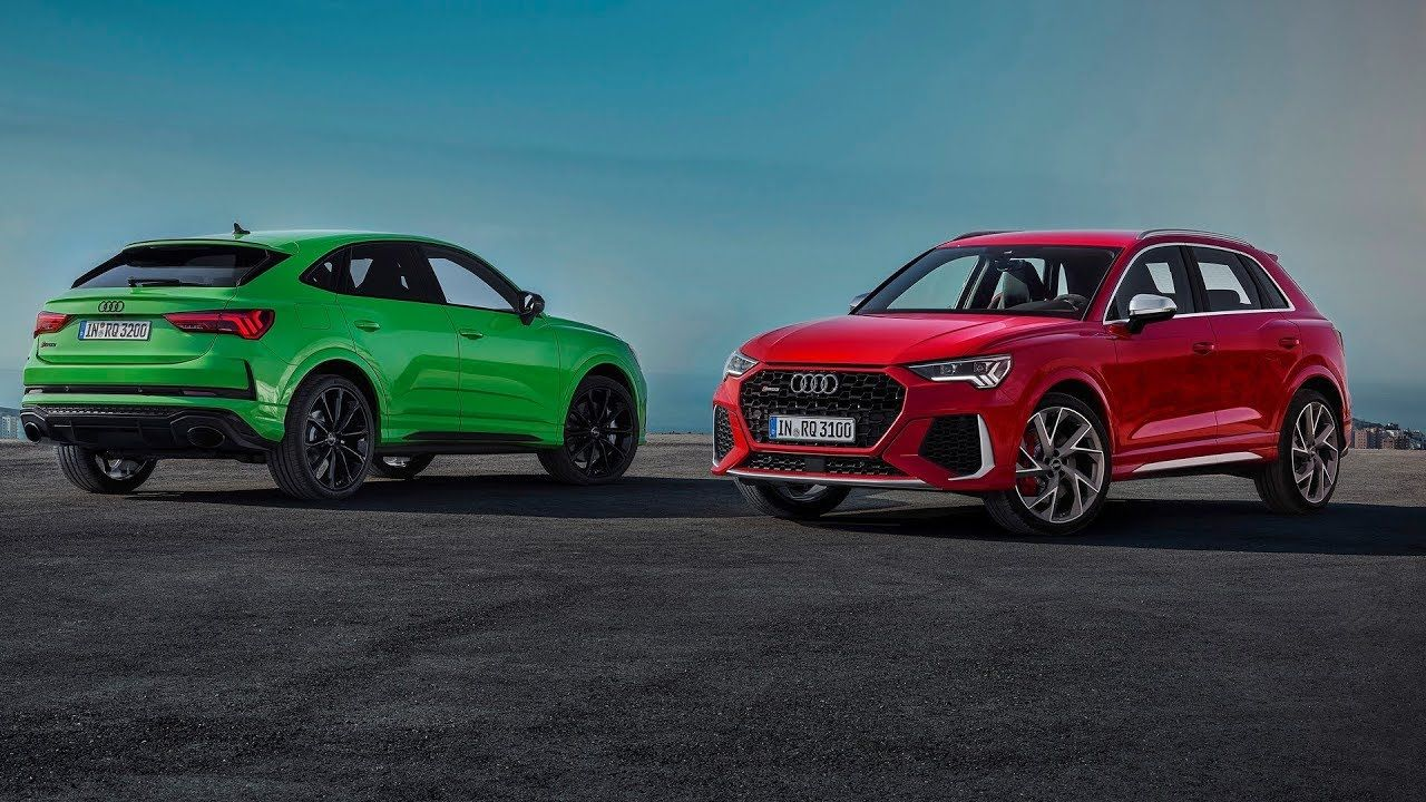 2020 Audi Rs Q3 And Rs Q3 Sportback Footage Youtube Audi Rs Audi Electric Car Range