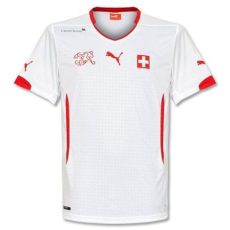 Camiseta de Suiza 2014-2015 Visitante  3e0bf030c784d
