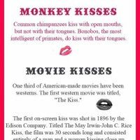 Fun Kissing Facts Kissing Facts Facts Weird Facts