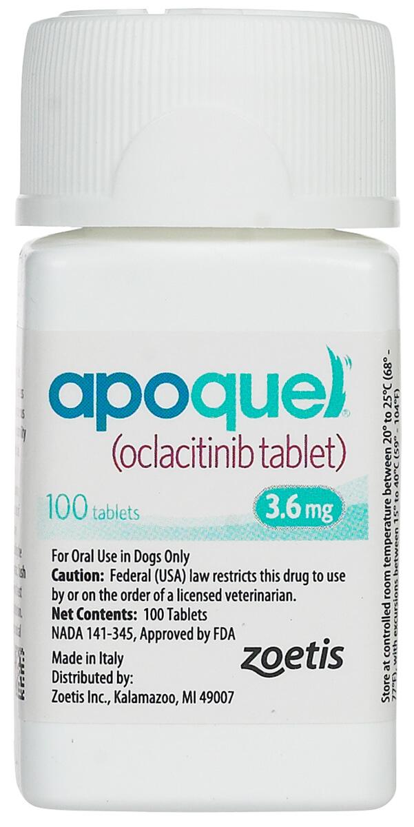 Apoquel For Dogs Zoetis Animal Health Safe Pharmacy Allergy Dog Rx Pet Allergic Dermatitis Dog Allergies Allergy Medicine