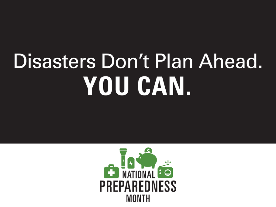 September is NatlPrep Month! Stay tuned all month for