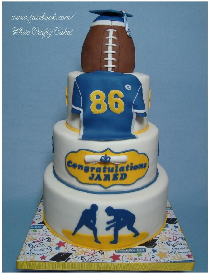 High School Wrestling Cake Toppers
