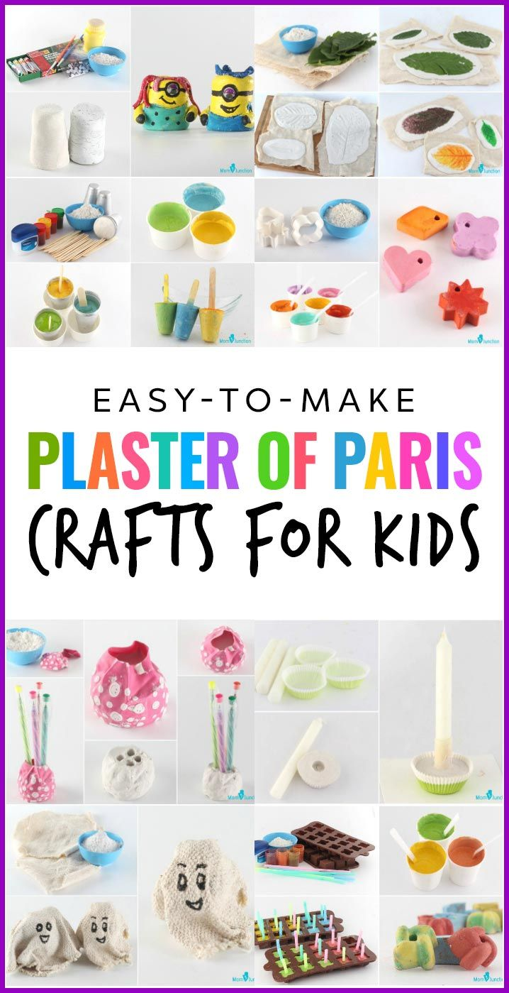 10 Easy-to-make Plaster Of Paris Crafts For Kids