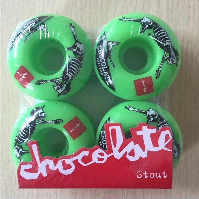USA BRAND 50mm -53mm Chocolate 101A Original New PRO Skateboard wheels for skateboard deck Ruedas Patines Plastic Rodas Skate