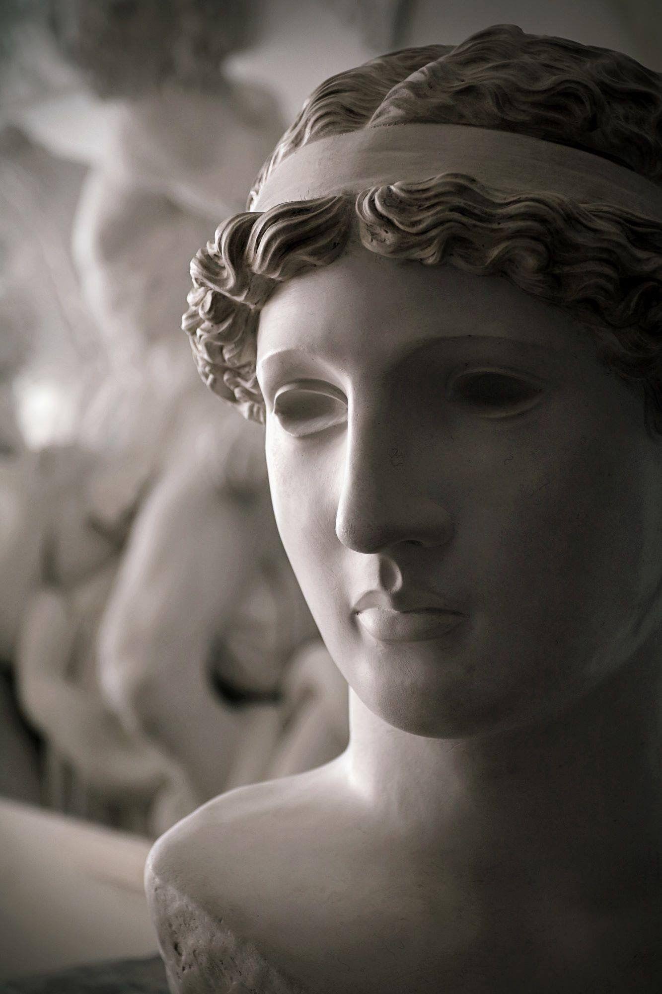 Athena Lemnia www felicecalchi com   Heads & Busts   Statue