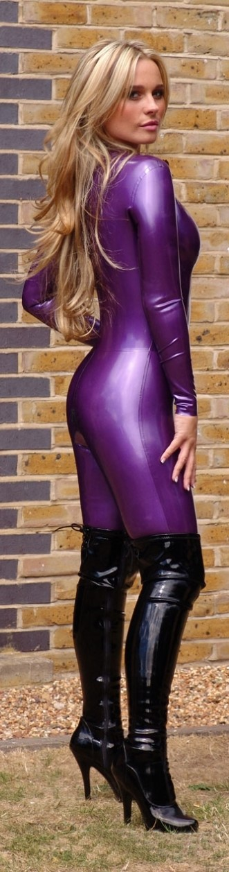 Share Sexy latex blonde inquiry answer