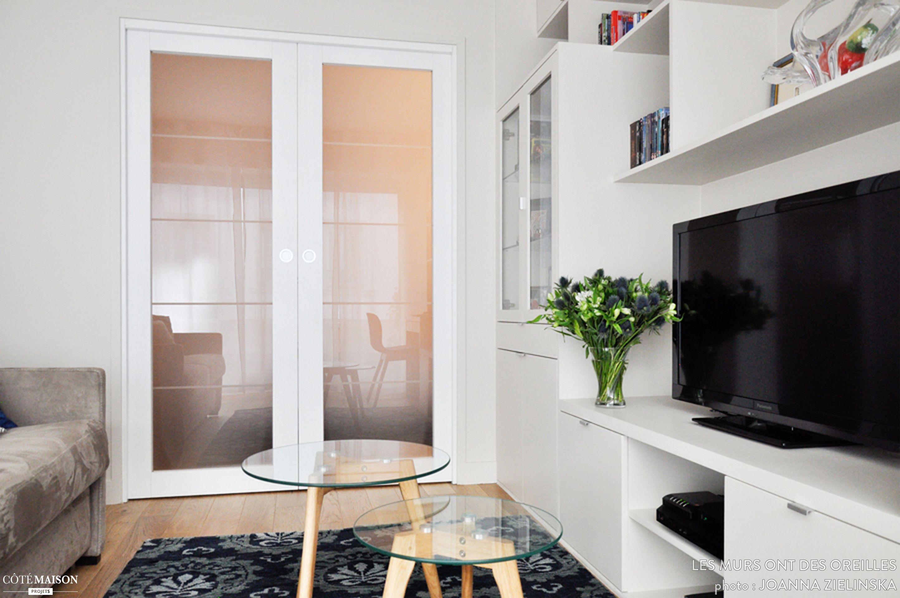 Paris 19 : un petit appartement de 19 m19 restructuré  Petit