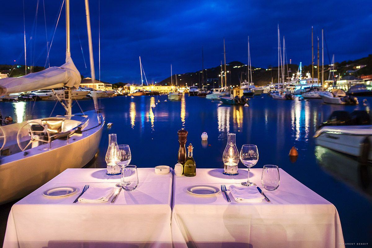 bagatelle restaurant - one st barts villa rental     craves