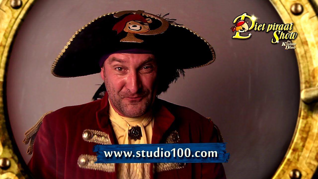 Piet Piraat en de Kleine Dino, binnenkort in een theater bij jou in de b...