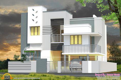 Wonderful House Plan Tamilnadu (1600×1067)