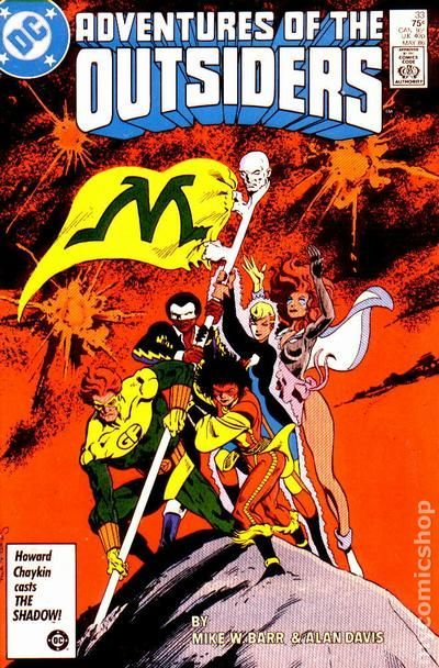 Batman and the Outsiders (1983 1st Series) 33