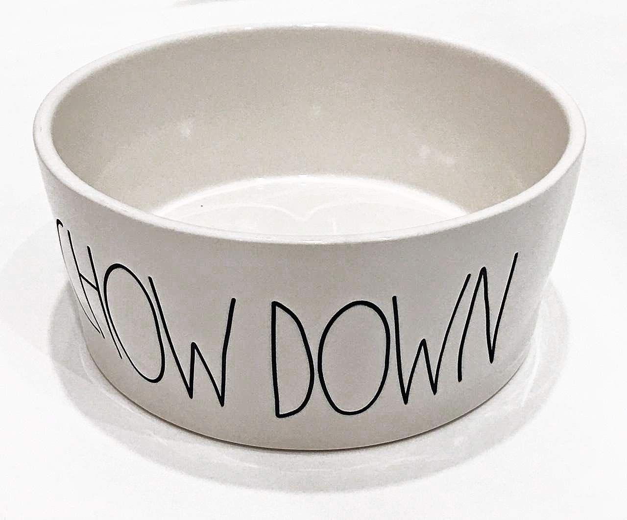 Rae Dunn Magenta Ceramic Extra Large (8' Diameter) Chow