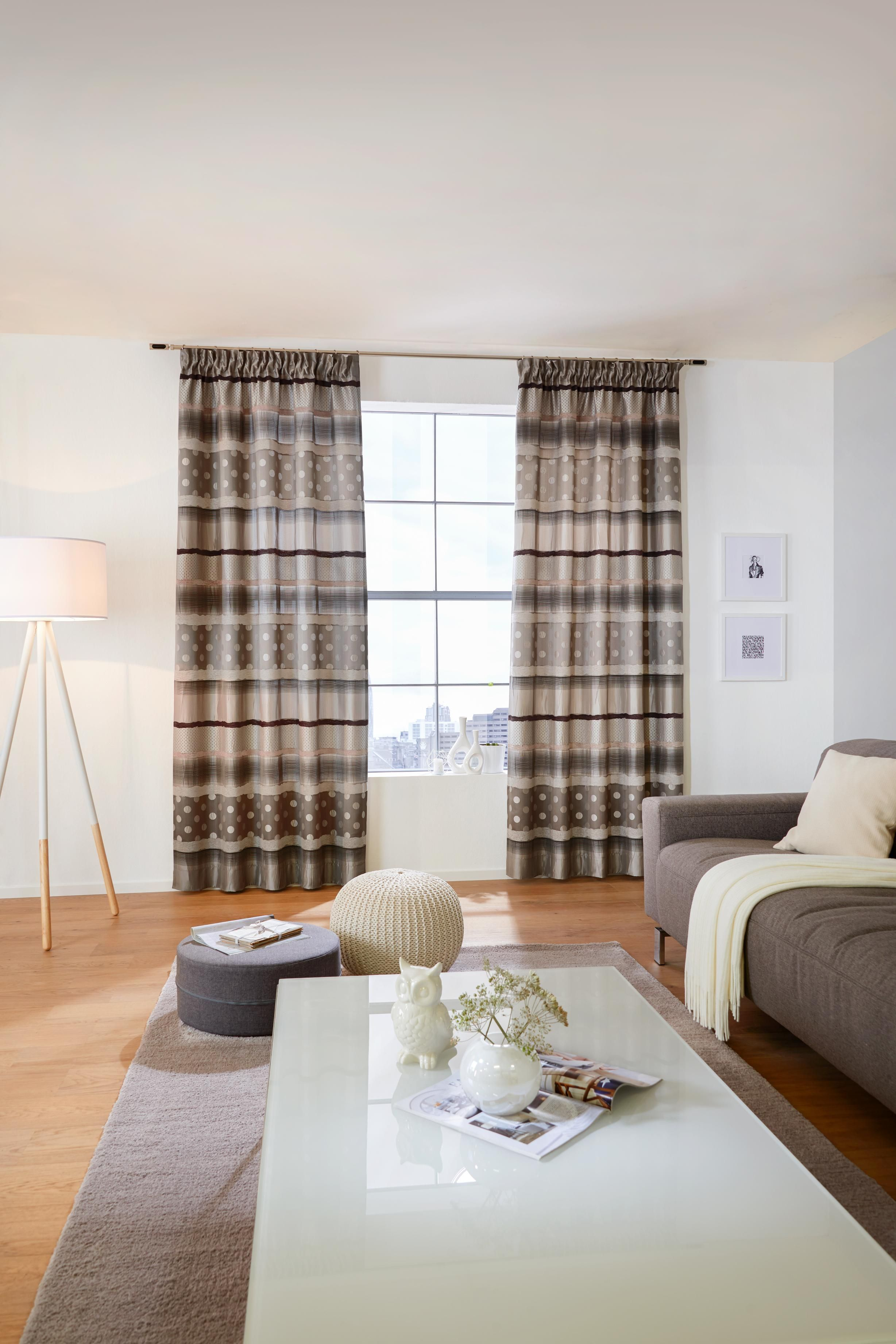 gardinen wohnzimmer doppelfenster : Dekostoff Von Esposa F R Trendige Vorh Nge Vorh Nge Pinterest