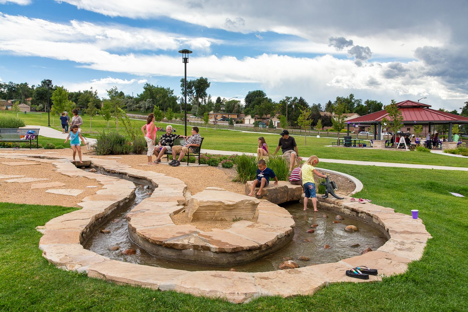 denver landscape architect park design playground water