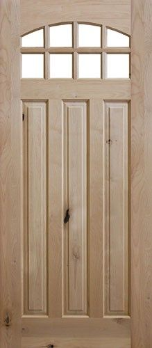 A Beautiful Knotty Alder Wood Door Is A Great Choice For Your Home Entry.  We Offer A Wide Range Of Exterior Door Styles With A Variety Of Glass  Designs, ...