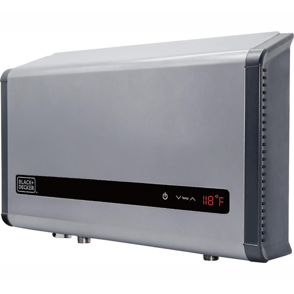 Black Decker 36 Kw Self Modulating 6 1 Gpm Electric Tankless Water