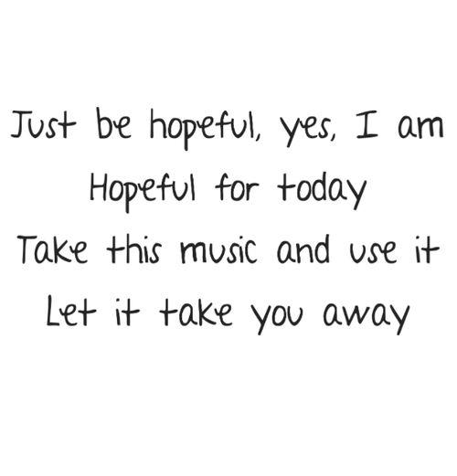 Just Hopeful