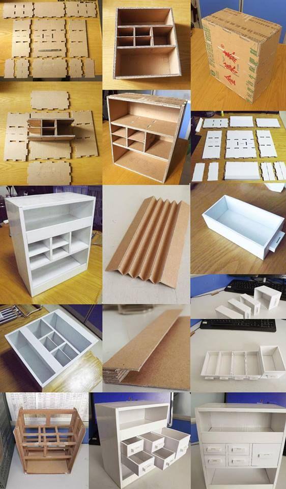 die besten 25 cardboard drawers ideen auf pinterest ordentlicher schreibtischorganisator. Black Bedroom Furniture Sets. Home Design Ideas