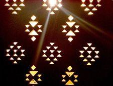 Wood lamp for Zeri Crafts Kuwait | Mayúscula Brands
