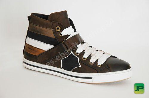 RICCO Scarpa Uomo Sneakers ZZ7108 colore MARRONE/BROWN
