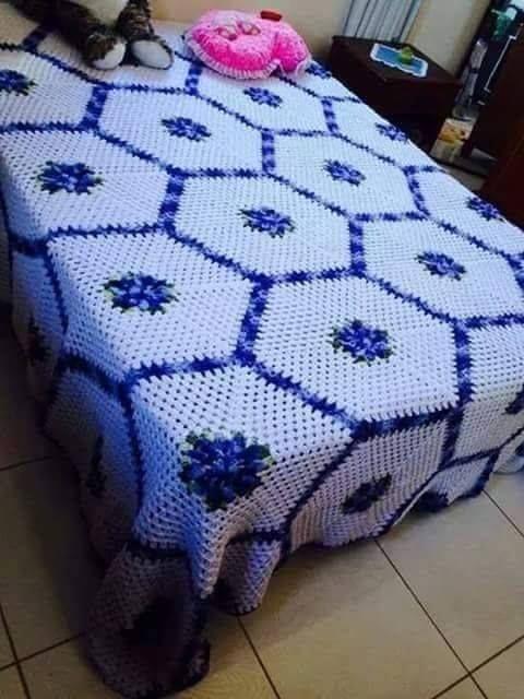 3 croch on line katia ribeiro molde colcha de - Mantas de ganchillo para sofas ...