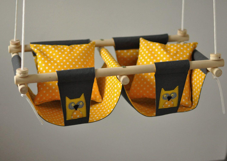 Baby swing for twins :)   Pinterest   Zwillinge und Babys